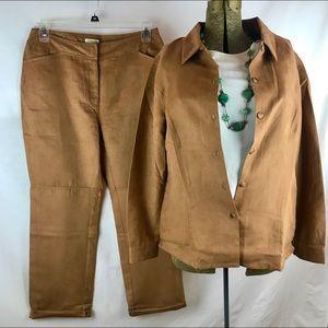 St Johns Bay  Vintage Pants Suit